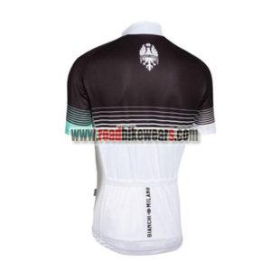 2016 Team BIANCHI Riding Jersey Shirt Black White Blue