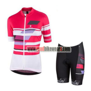 2017 Team Nalini Women s Biking Clothing Cycle Jersey and Padded Shorts  Roupas Bicicleta Pink White ccf4f6787