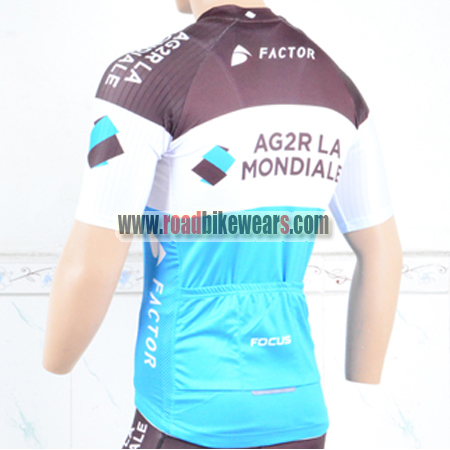 Cycling Skinsuits · Cycling T-shirts. Search for. 2018 Team AG2R LA  MONDIALE Biking Jersey Blue Brown 4b01579a7