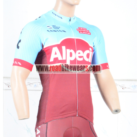 2018 Team Alpecin KATUSHA Cycle Clothing Biking Jersey Top Shirt ... 16193f7af
