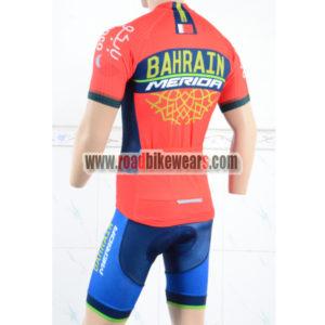2018 Team BAHRAIN MERIDA Bike Kit Red Blue