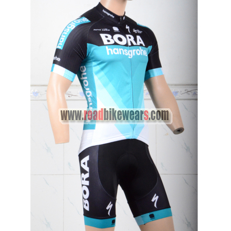 2018 Team BORA hansgrohe Biking Wear Cycle Jersey and Padded Shorts ... 055c52b9a