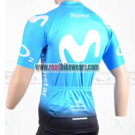 1c4375b1f 2018 Team Movistar Cycle Apparel Biking Jersey Top Shirt Maillot ...