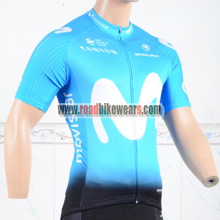2018 Team Movistar Cycle Apparel Biking Jersey Top Shirt Maillot ... 52a40008e