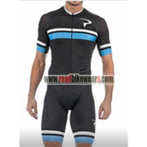 dc610c5bf 2018 Team PINARELLO Riding Uniform Cycle Jersey and Padded Shorts Roupas  Bicicleta Black Blue