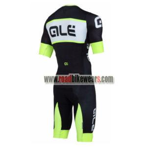 2018 Team QLE Riding Skinsuit Black Green