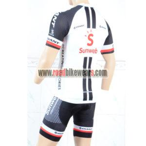 2018 Team Sunweb GIANT Bike Riding Kit White Black