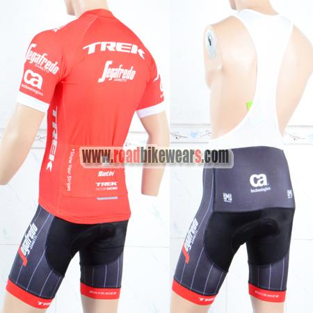 9caa74169 2018 Team TREK Segafredo Riding Clothing Cycle Jersey and Padded Bib ...