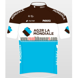 2018 Team AG2R LA MONDIALE Summer Winter Riding Clothing Biking Jersey Top  Shirt Maillot Cycliste fb58ab1ce