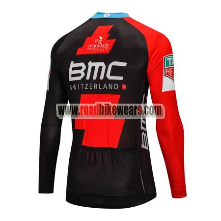 f7401d99c 2018 Team BMC Cycle Outfit Biking Long Sleeves Jersey Ropa De ...