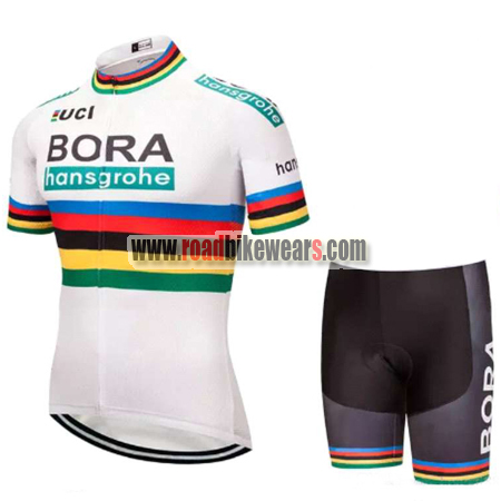 2018 Team BORA hansgrohe UCI Champion Riding Wear Cycle Jersey and ... 6e0220099