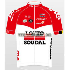 6c1f46220 2018 Team LOTTO SOUDAL Summer Winter Riding Clothing Biking Jersey Top Shirt  Maillot Cycliste Red White