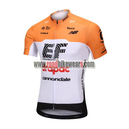 c6419b009 2018 Team EF drapac cannondale Cycle Apparel Biking Jersey Top Shirt ...