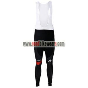 2017 Team BMC Spring Winter Riding Clothing Biking Padded Long Bib Pants  Tights Regular Fleece Fabric Black Red 79a267826