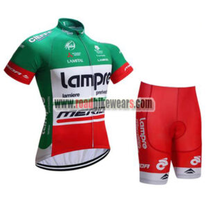 2017 Team Lampre MERIDA Cycle Kit Green Red ... bf5965755