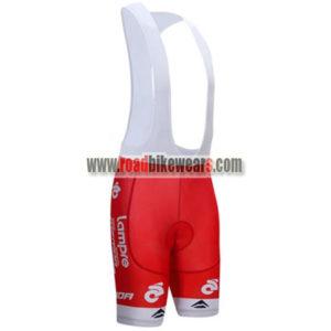 87e82baa1 2017 Team Lampre MERIDA Cycling Bib Shorts Bottoms Red ...