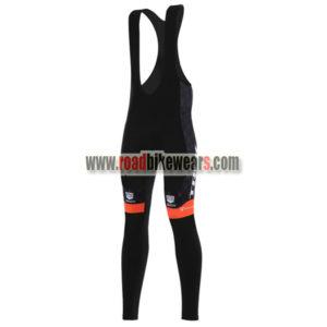 8d1c23adf 2017 Team TREK San Marco Cycling Long Bib Pants Tights Black Yellow