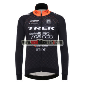 f5a441c00 2017 Team TREK San Marco Cycling Long Jersey Black Yellow