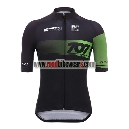 65a678bde 2018 Team 707 Santini Cycle Clothing Biking Jersey Top Shirt Maillot ...