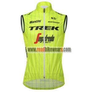 4220aebc3 2018 Team TREK Segafredo Riding Apparel Biking Sleeveless Jersey Tank Top  Maillot Cycliste Yellow