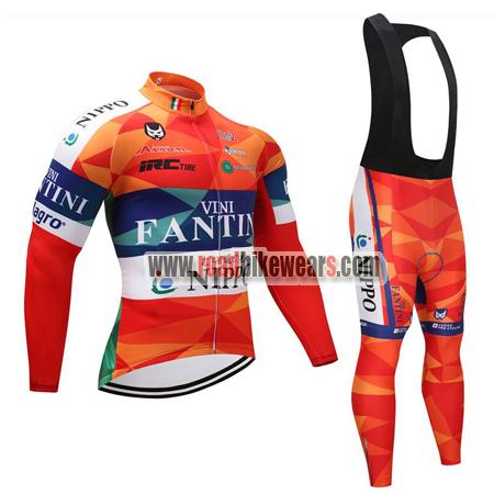 16d1ba4b5 2018 Team VINI FANTINI NIPPO Spring Winter Cycle Clothing Riding ...