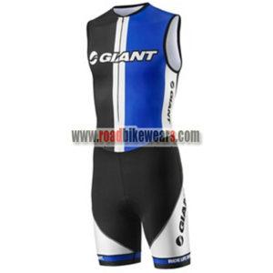 9617f7c07 2013 Team GIANT Cycling Skin Suit Speedsuit Triathlon Black Blue ...