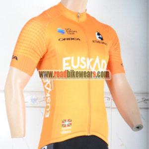 1e5803173 2018 Team EUSKADI Cycling Jersey Shirt Yellow ...