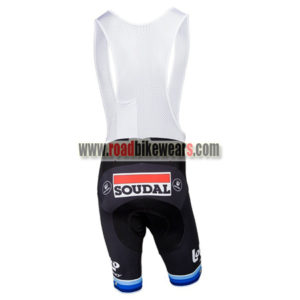 ... 2018 Team LOTTO SOUDAL European Champion s Cycling Bib Shorts Bottoms  Black Blue 098e99ac6
