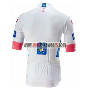 ... 2018 Team Castelli LaGazzettadello Sport Giro d Italia Riding Jersey  Shirt White e22461631
