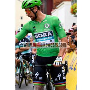 2018 Team BORA hansgrohe Tour de France Riding Uniform Cycle Jersey and  Padded Shorts Pants Roupas Bicicleta Green c80e786a4